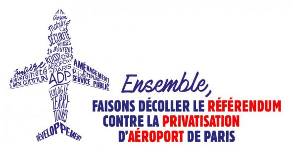 Contre la privatisation d'ADP